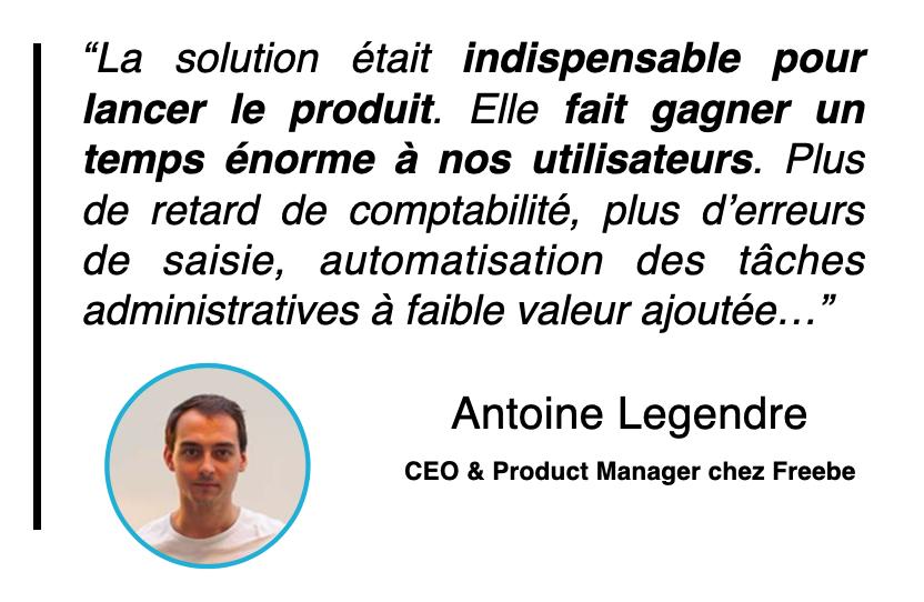 Témoignage Antoine Legendre