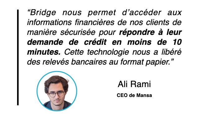 Témoignage Ali Rami Mansa